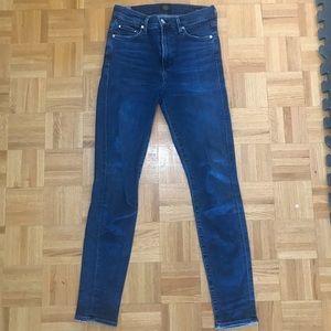 COH rocket high rise skinny jeans size 27